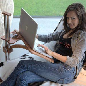 Laptoptisch höhenverstellbar Lounge-Wood classic