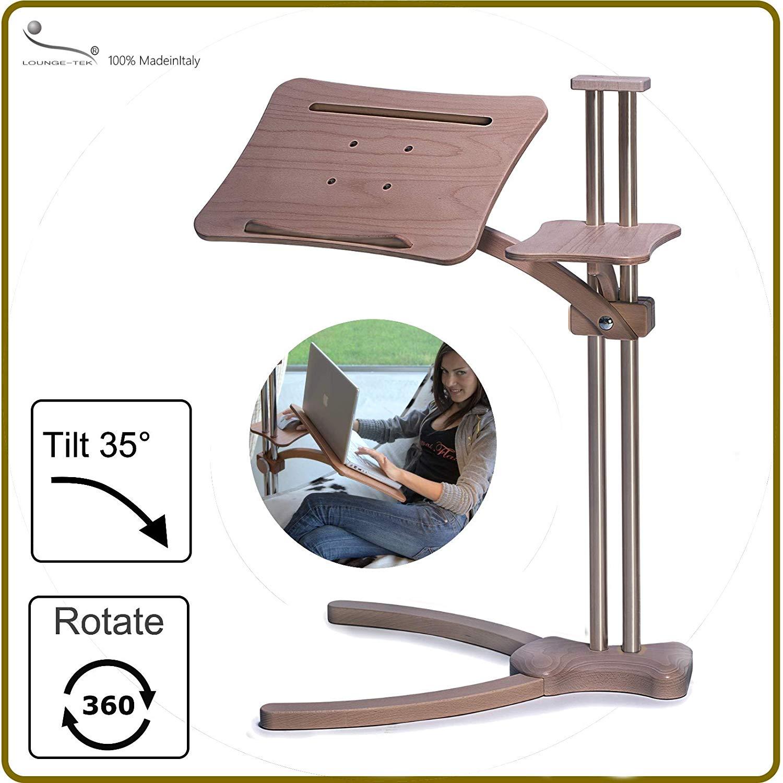 Im Test: Laptoptisch Lounge-Wood Classic